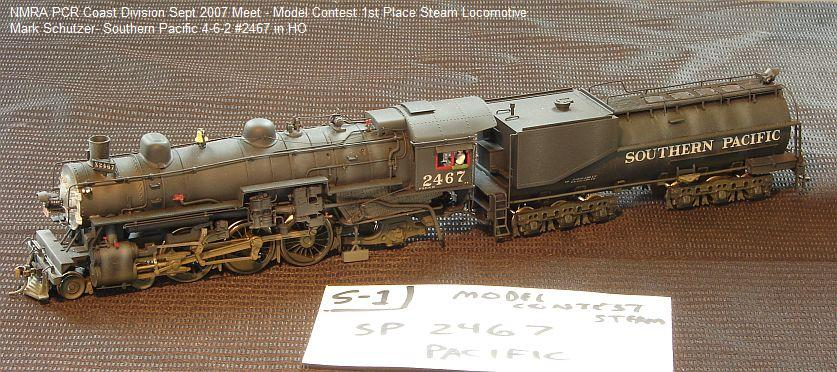 ho Scale Heisler 4-6-2 Pacific in ho Scale