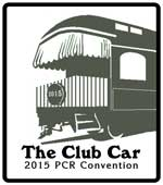 The Club Car 2015 PCR Convention logo